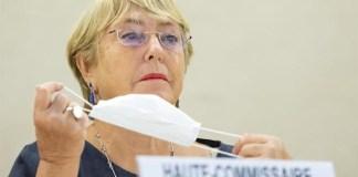 Bachelet sanciones Venezuela