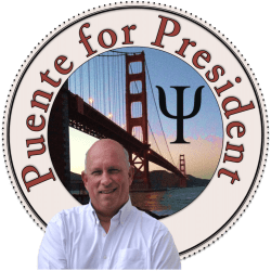 Puente for President logo