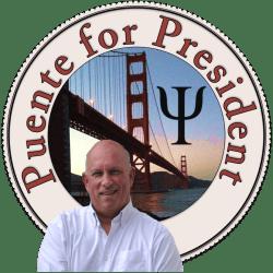 Puente for President logo