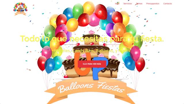 Up Balloons Fiestas