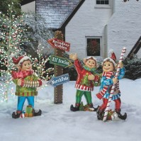 elf outdoor christmas decorations | Billingsblessingbags.org