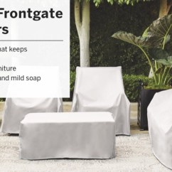 Avery's Chair Covers And More Steel White Patio Furniture Frontgate