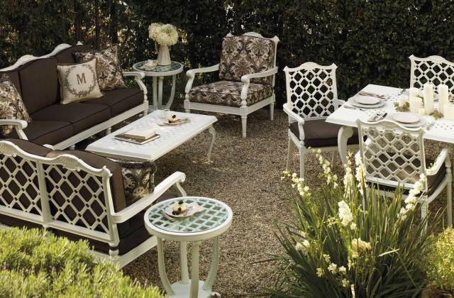 frontgate outdoor furniture collection - interactive application