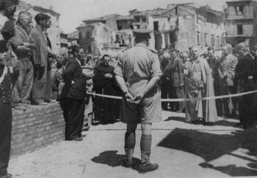 ingresso degli inglesi a Rieti