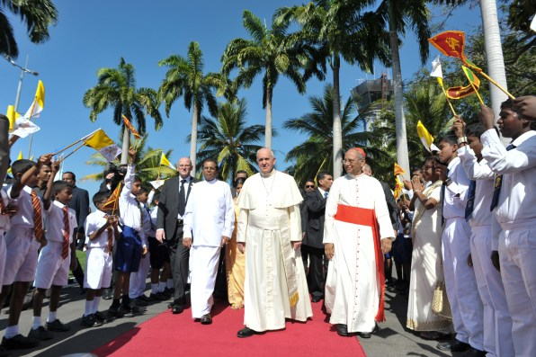 Papa Francesco in Sri Lanka 10