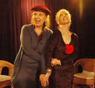 Duska Bisconti e Violetta Chiarini-Ce.N. D.I.C.i