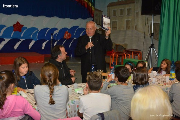 Mons Domenico Pompili a San Michele Arcangelo (Cena) 29 settembe 2015 foto Massimo Renzi 03