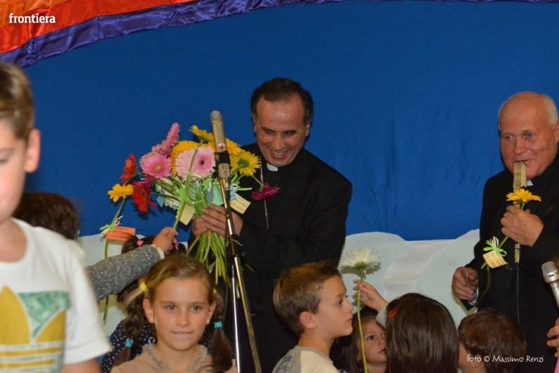 Mons Domenico Pompili a San Michele Arcangelo (Cena) 29 settembe 2015 foto Massimo Renzi 12