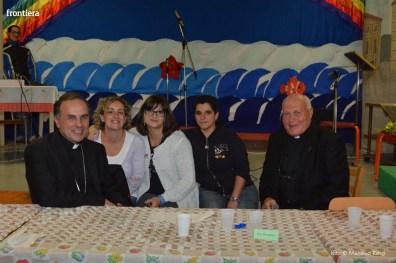 Mons Domenico Pompili a San Michele Arcangelo (Cena) 29 settembe 2015 foto Massimo Renzi 15