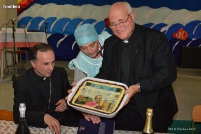Mons Domenico Pompili a San Michele Arcangelo (Cena) 29 settembe 2015 foto Massimo Renzi 18