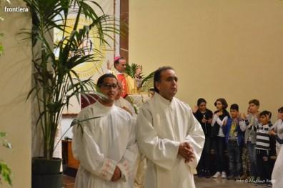 Mons Domenico Pompili a San Michele Arcangelo (Messa) 29 settembe 2015 foto Massimo Renzi 06