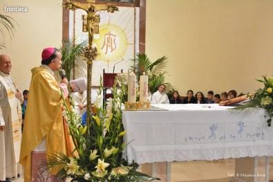 Mons Domenico Pompili a San Michele Arcangelo (Messa) 29 settembe 2015 foto Massimo Renzi 08