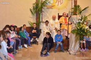 Mons Domenico Pompili a San Michele Arcangelo (Messa) 29 settembe 2015 foto Massimo Renzi 17