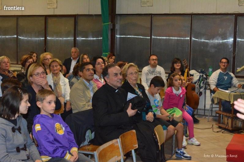 Mons Domenico Pompili a San Michele Arcangelo (Recita) 29 settembe 2015 foto Massimo Renzi 01