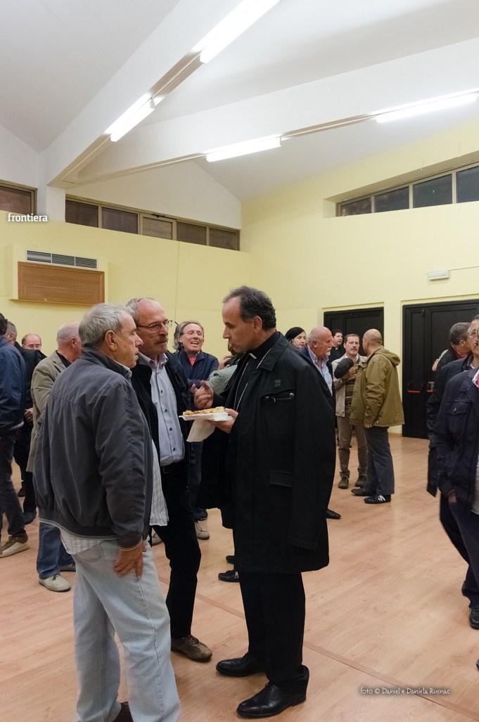 Incontro del Vescovo Domenico Pompili con i volontari della Diocesi foto Daniel e Daniela Rusnac 09