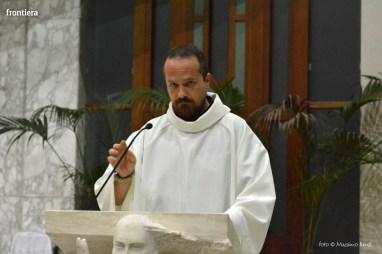 Incontro del Vescovo Domenico Pompili con i volontari della Diocesi foto Massimo Renzi 02