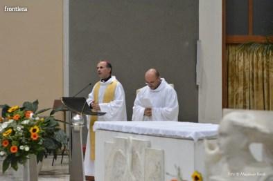 Incontro del Vescovo Domenico Pompili con i volontari della Diocesi foto Massimo Renzi 05