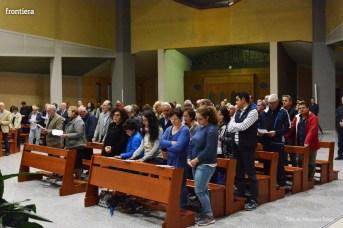 Incontro del Vescovo Domenico Pompili con i volontari della Diocesi foto Massimo Renzi 09