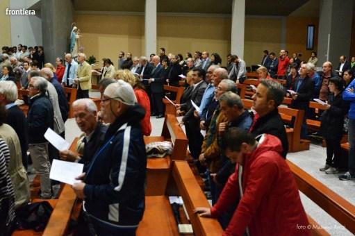Incontro del Vescovo Domenico Pompili con i volontari della Diocesi foto Massimo Renzi 15