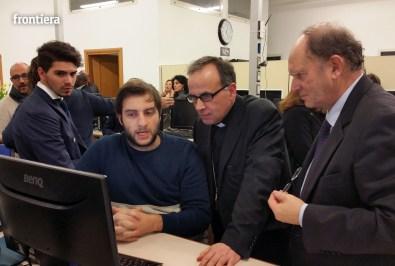 Visita del Vescovo Domenico in Telpress 17 marzo 2016 foto Fabrizi 02