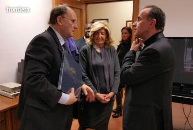 Visita del Vescovo Domenico in Telpress 17 marzo 2016 foto Fabrizi 06