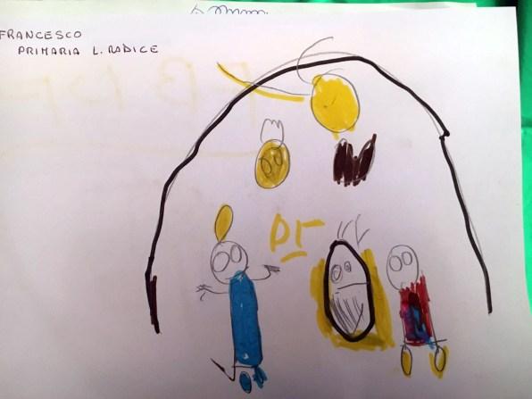 Il presepe di Francesco - Bambini della Lombardo Radice 15