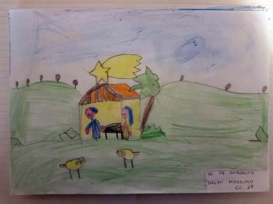 Il presepe di Francesco - Bambini di Antrodoco 15