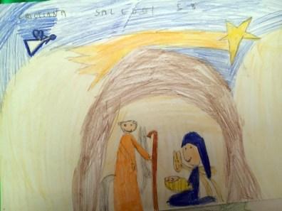 Il presepe di Francesco - Bambini di Piazza Tevere 15