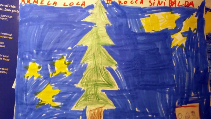 Il presepe di Francesco - Bambini di Rocca Sinibalda 05