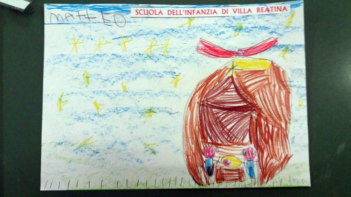 Il presepe di Francesco - Bambini di Villa Reatina 08