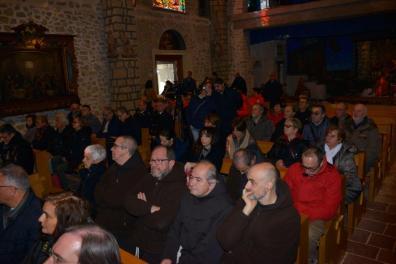 Inaugurazione Affresco Restaurato Greccio Grotta Presepe [16.12.2016] foto Massimo Renzi 05