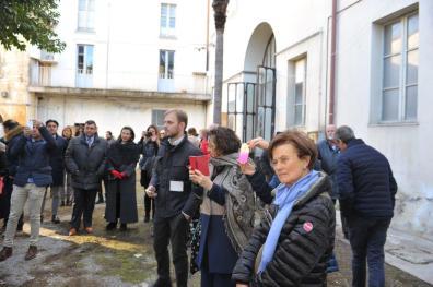 [24.12.2017] Inaugurazione Presepe Cappella di San Camillo Ospedale vecchio MAS_1985