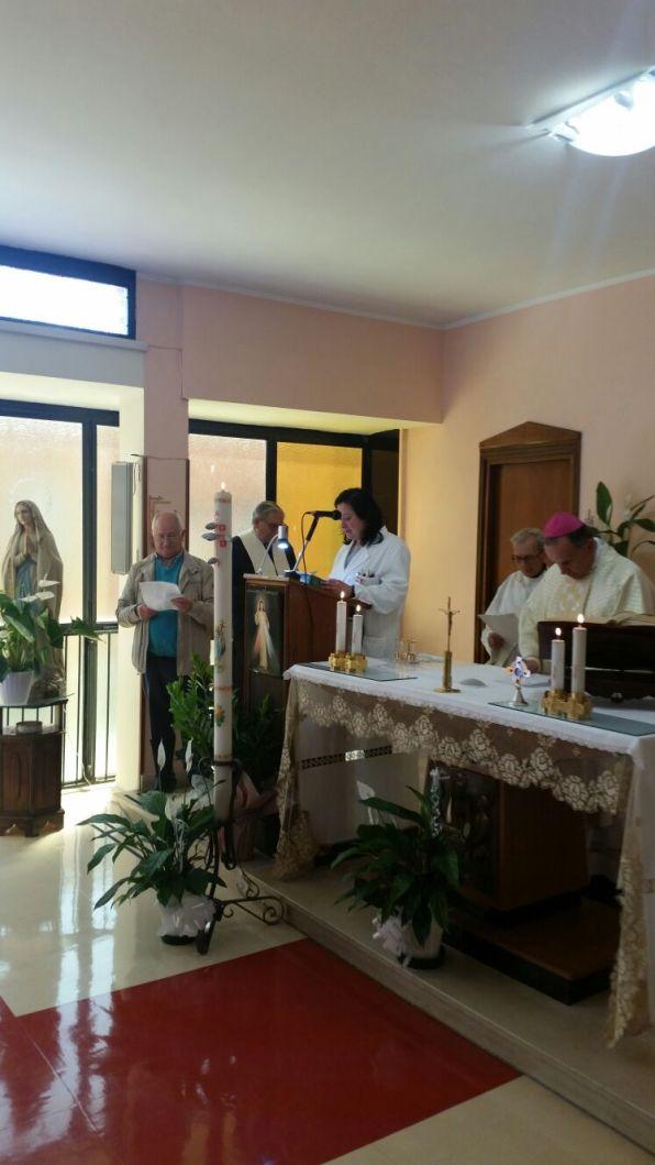 [27.04.2018] Messa con-gli infermieri festa sant'Agostina Pietrantoni 01