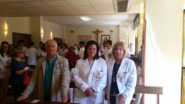 [27.04.2018] Messa con-gli infermieri festa sant'Agostina Pietrantoni 03