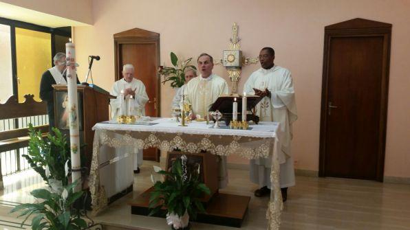 [27.04.2018] Messa con-gli infermieri festa sant'Agostina Pietrantoni 04