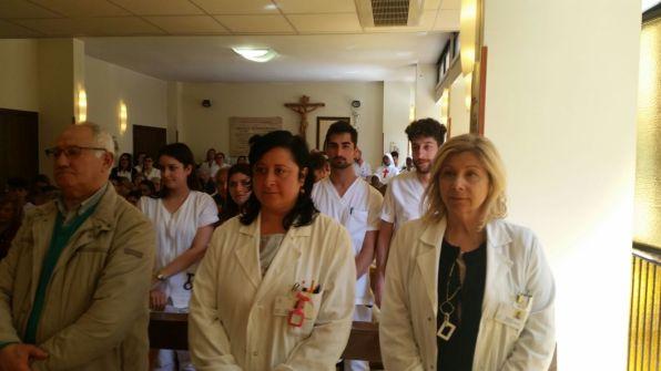 [27.04.2018] Messa con-gli infermieri festa sant'Agostina Pietrantoni 05