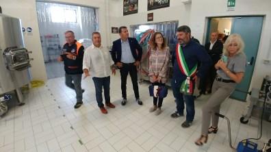 [18.09.2018] Ministro Agricoltura Centinaio in visita a Cittareale 01