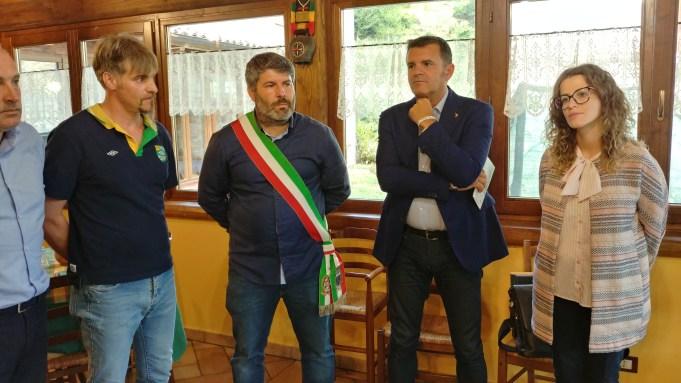 [18.09.2018] Ministro Agricoltura Centinaio in visita a Cittareale 04