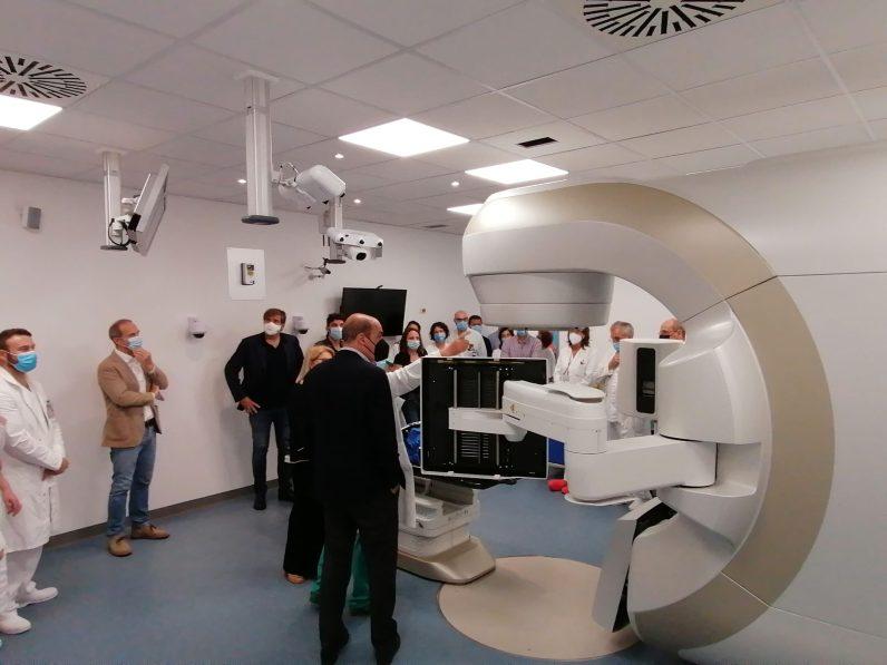 [09.07.2021] Inaugurazione nuovo Acceleratore Lineare Radioterapia Oncologica RIS3