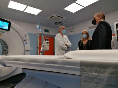 [09.07.2021] Inaugurazione nuovo Acceleratore Lineare Radioterapia Oncologica TAC 2