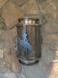Saratoga Wall Sconce  Frontier Iron Works