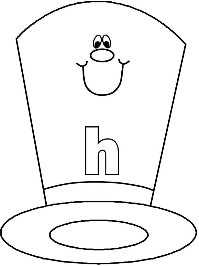 HAT COLORING SHEETS « Free Coloring Pages