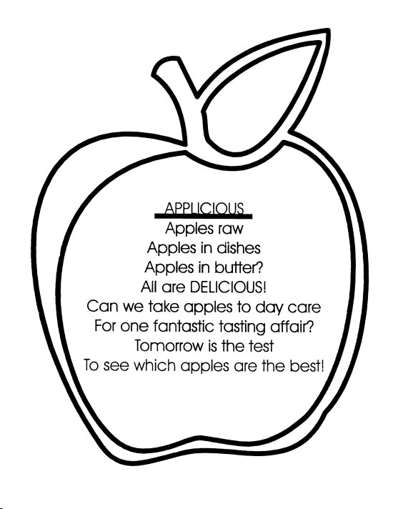 FOOD COLORING IN APPLES « Free Coloring Pages