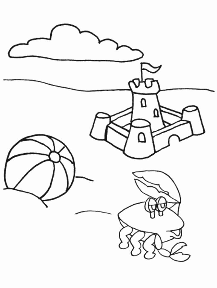 Summer Coloring Pages Collections 2010