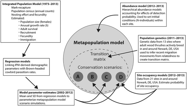 Frontiers Predicting Metapopulation Responses to