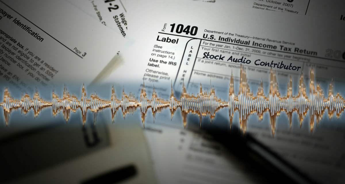 Taxes for Stock Audio Contributors