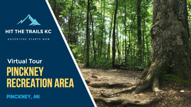 Crooked Lake Trail in Pinckney Recreation Area