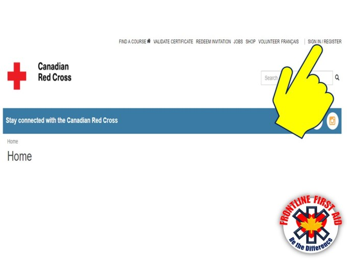 Canadian Red Cross Replacement Cpr Card Lettercard