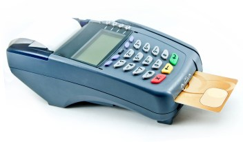EMV terminal with EMV chip card