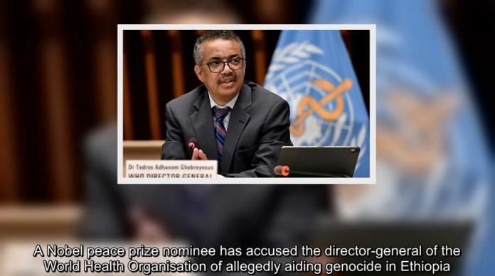 WHO-baas Tedros beschuldigd van volkerenmoord